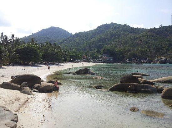 Thongtakian Resort: Het kleine maar heerlijke strandje