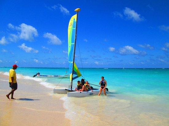 Iberostar Dominicana Hotel: Catamaran is a must!