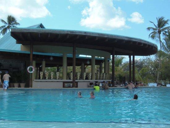 Dreams La Romana Resort & Spa : Swim up bar area