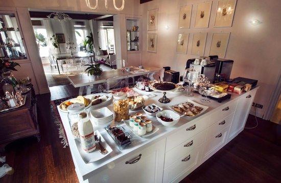 Villa Vittoria B&B: Breakfast buffet