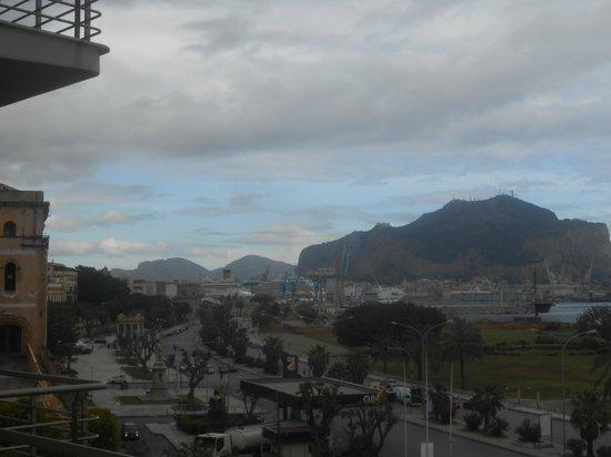 Monte Pellegrino desde el NH Palermo