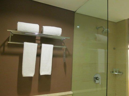 Grand Ixora Kuta Resort : The bathroom