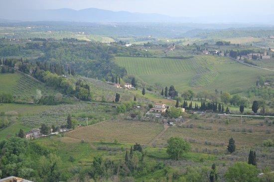 Sulle Orme di Dante Agriturismo: Vista (captada na  Torre Grossa)
