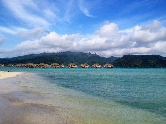 Le Taha'a Island Resort & Spa: Spectacular Property
