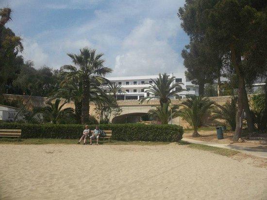 Gavimar Cala Gran Costa del Sur Hotel & Resort: hotel from beach