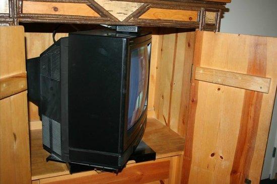The Lodge at Big Bear Lake, a Holiday Inn Resort : Old TV