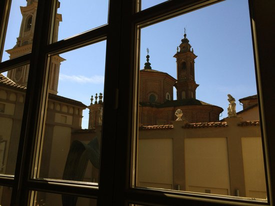 Palazzo Righini : View from the breakfast area