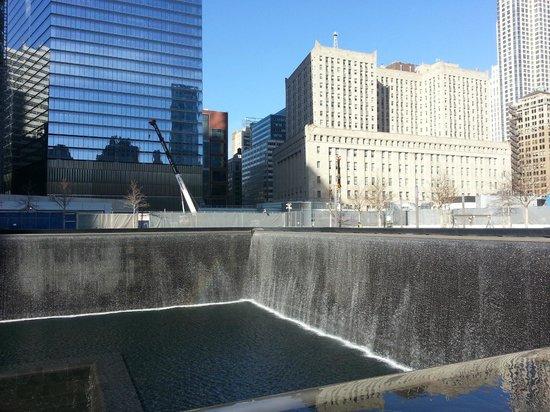 911 Ground Zero Tour: South Tower pool