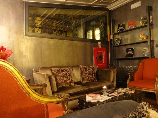 Hotel San Anselmo: Lounge
