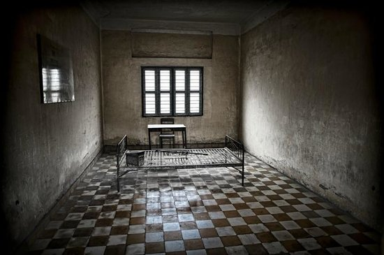 The Pavilion: S21 Tuol Sleng Genocide Museum