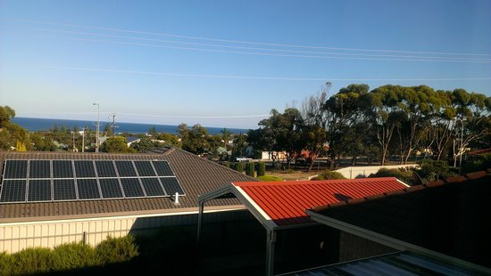 Seaford Rise, Australia: View from main bedroom