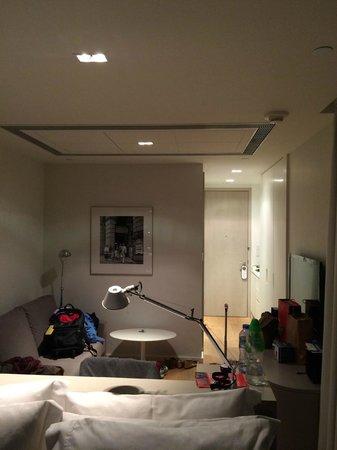 Twenty One Whitfield: View of the studio