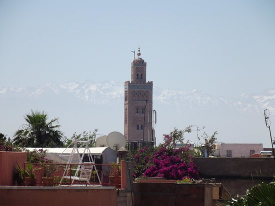 Riad Nasreen: View from Roof Terrace