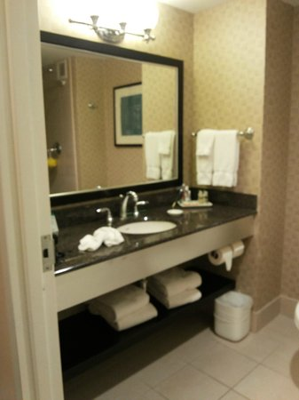 The Heldrich Hotel & Conference Center: Bathroom