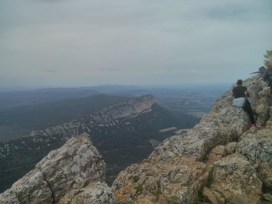 Pic St-Loup : At the top