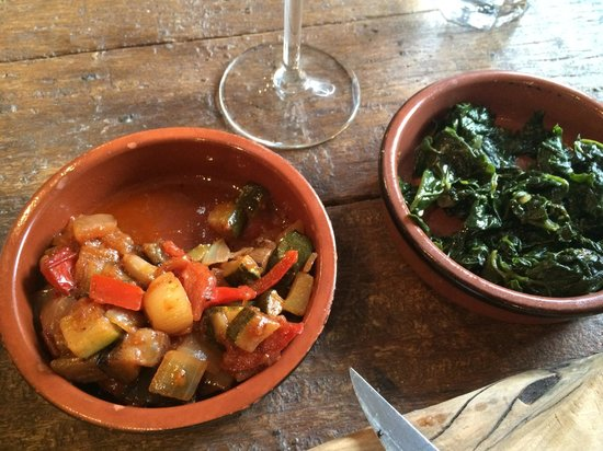 La Cave Restaurant & Wine Bar: Side dishes