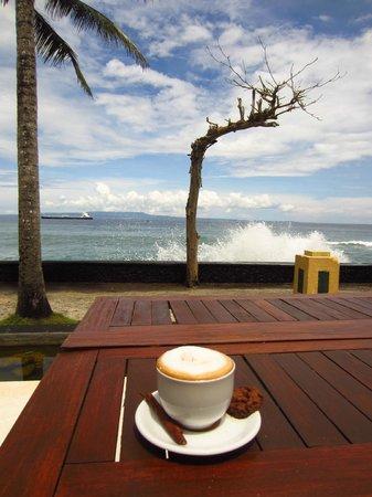 Nirwana Resort and Spa : view from restaurant