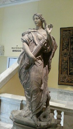 The Walters Art Museum: Wonderful Statues in the Sculpture Court.
