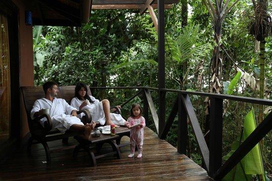 Rio Celeste Hideaway Hotel : Coffee is served