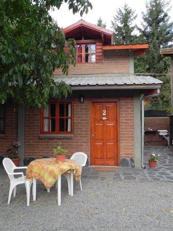 Cabañas Tunquelen: Nuestra cabaña por fuera