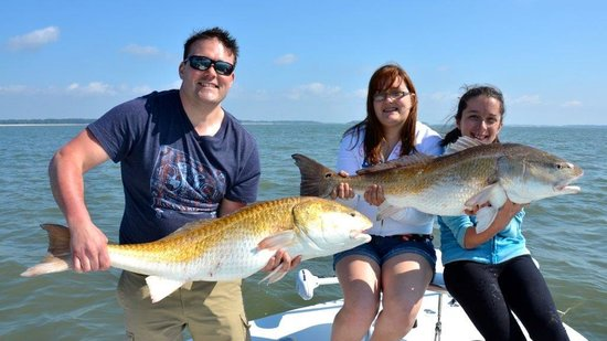 Off The Hook Fishing Charters: Trophy Red Drum