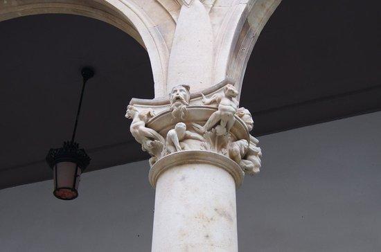 Salina's Palace: detale columna