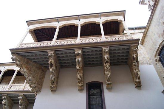 Salina's Palace: balcón