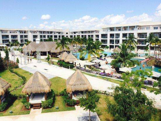 Paradisus Playa Del Carmen La Esmeralda: Pool view from our room