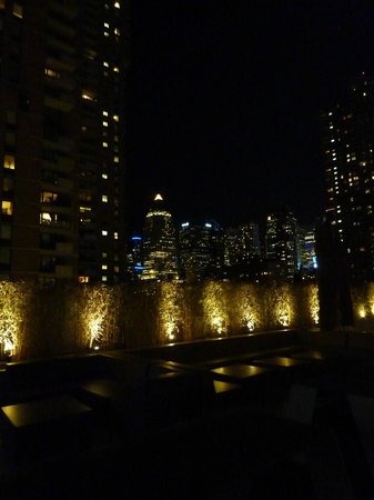 YOTEL New York at Times Square West: Superbe terrasse extérieure