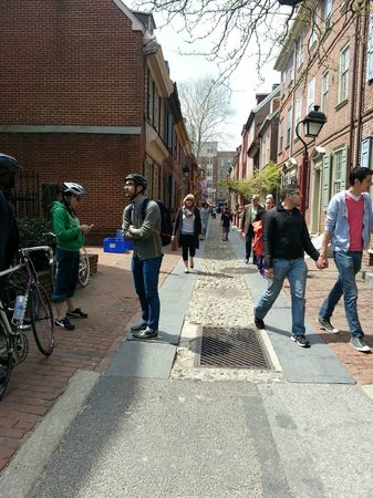 Philly Bike Tour Company: Oldest Street in Philly from Philly Bike Tour
