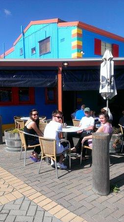 Deep Blue Cafe: Happy days