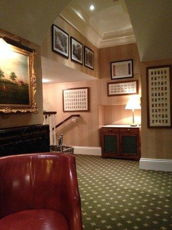 The Talbot Hotel Malton: Part of the Bar Area