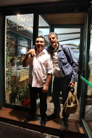 Hostaria Da Italo a Trastevere: Simpatia e Cortesia