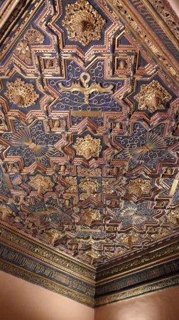 Palacio de la Aljafería: Techumbre