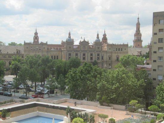 Melia Sevilla: view from bedroom