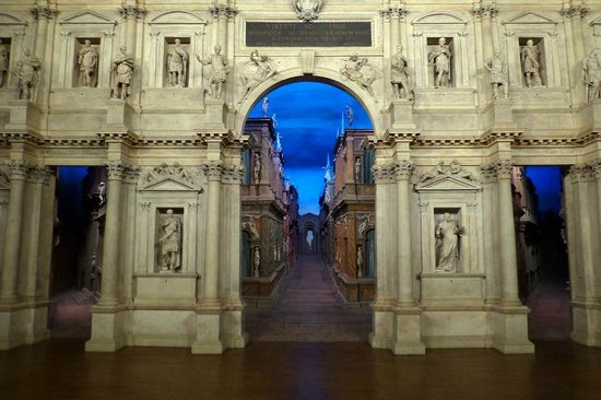 Teatro Olimpico: the scene ( incredible as it might seem)