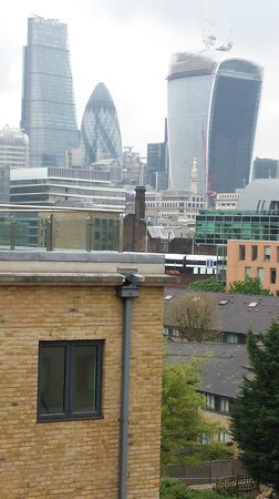 Novotel London City South : View from room 523