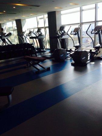 Pullman Saigon Centre : Fitness centre on 6th floor