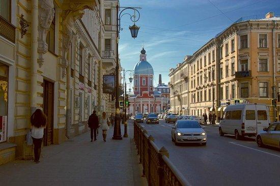 Church of the St Panteleimon: Пантелеи́моновская цeрковь, ул. Пестеля
