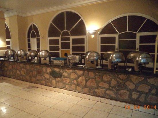 El Samaka Comfort Hotel: buffet