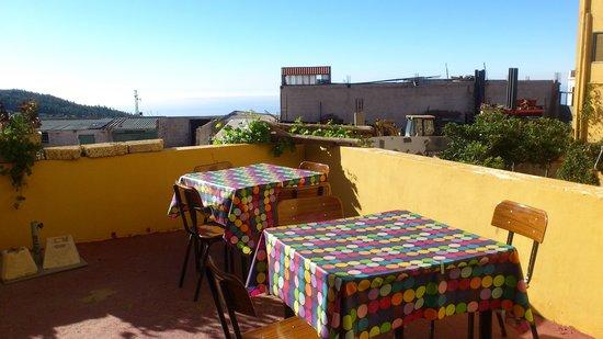 Hotel El Sombrerito: terrass