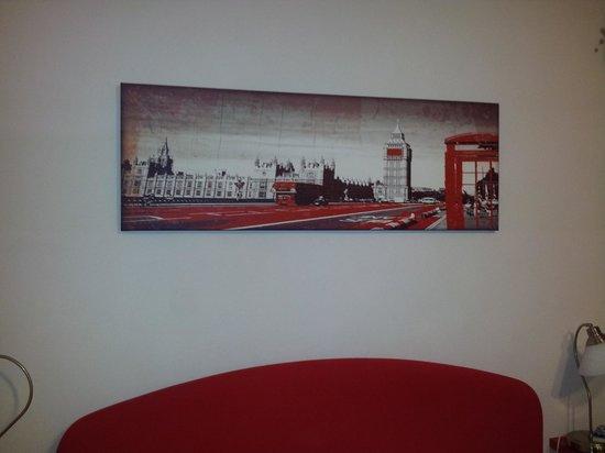ToledoStation Bed & breakfast: Interno stanza Londra