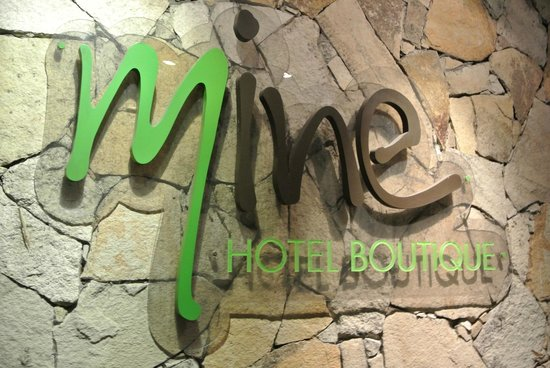 Mine Hotel Boutique: Entrada