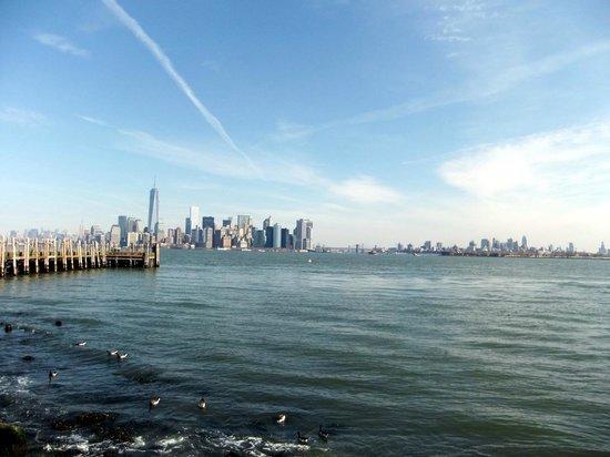Estatua de la libertad: NYC skyline