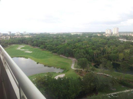 Orlando World Center Marriott: room view