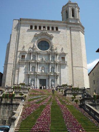 Catedral de Girona: Girona Temps de Flors 10-18 Mayo , Impresionante