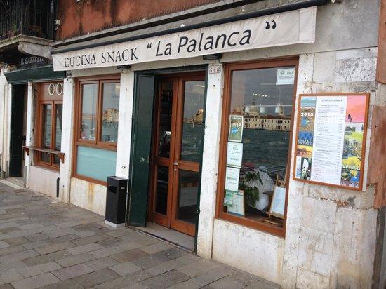 La Palanca : Entrée du restaurant