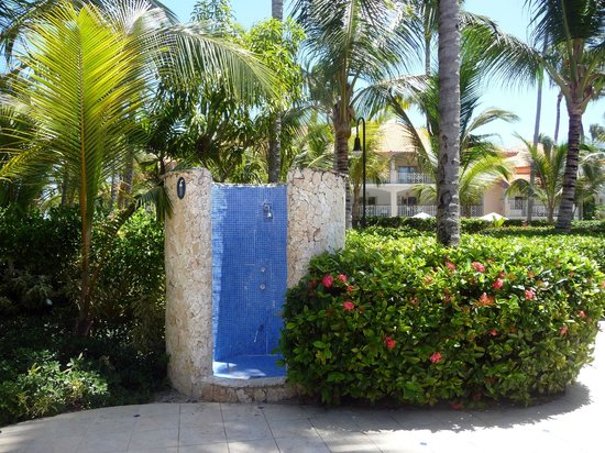 Majestic Elegance Punta Cana: Pool shower, I wish this was my shower everyday
