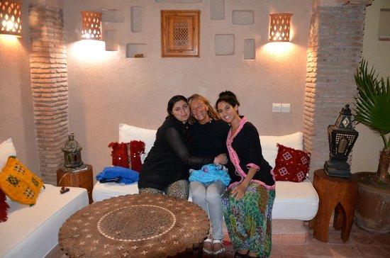 Riad Gallery 49 : Terrazza con vista sui tetti di Marrakech