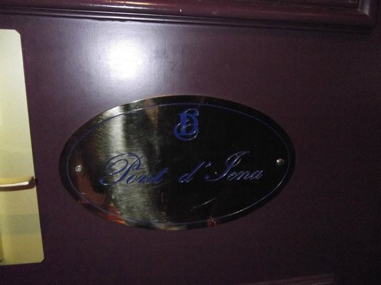 Hotel Duquesne Eiffel: Rooms are not numbered, they are named